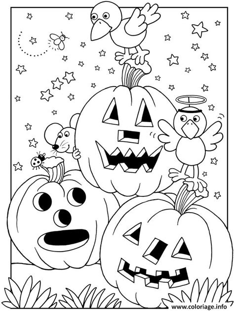 199 best halloween to color images on pinterest coloring coloriage halloween maternelle facile citrouilles dessin