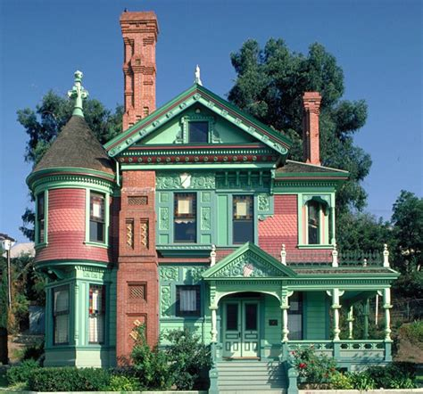 queen anne house style ferndale victorian homes ca13 hale house los angeles ca