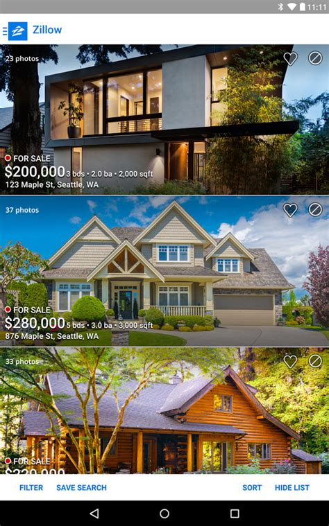 zillow real estate rentals android apps on play