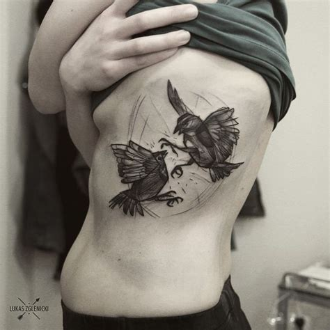 Bird Tattoos Designs And Meanings 2017 Black And White Bird Tattoos 2