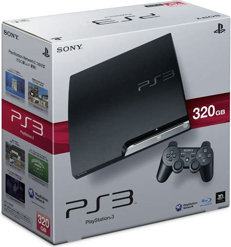 Ps3 Sony Slim 320gb konsola sony playstation 3 hdd 320gb slim w morele net