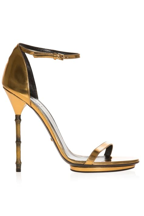 High Heels G bamboo high heel sandals gucci bysymphony