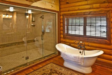 bathroom log bathroom log cabins pinterest