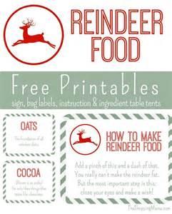 Free printable reindeer food poem reindeer food poem magic reindeer