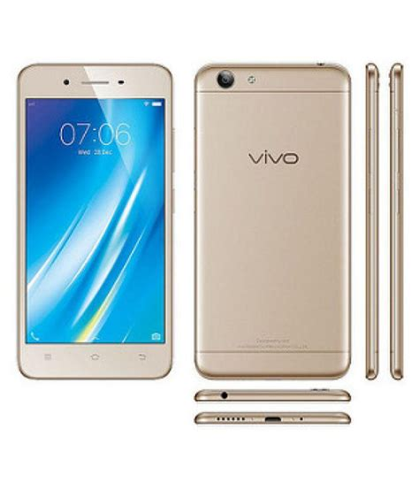 Vivo Y53 vivo crown gold 1606 y53 16gb mobile phones at