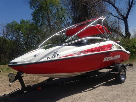 sea doo jet boat 430 hp sea doo 200 speedster 430 hp rotax turbo 2007 for sale for