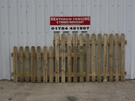 top picket fence heathrow fencing