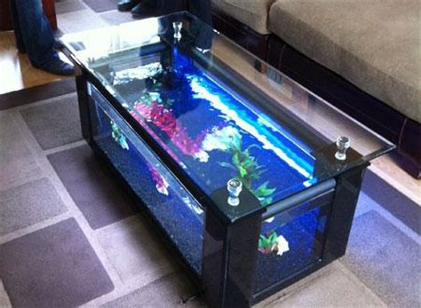 fish tank bench coffee table project plans table aquarium fish tank uk