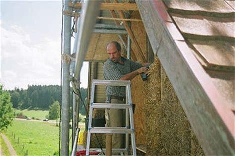 draht bild hängendes system therm strohballen sanierung eines bauernhauses im allg 228 u