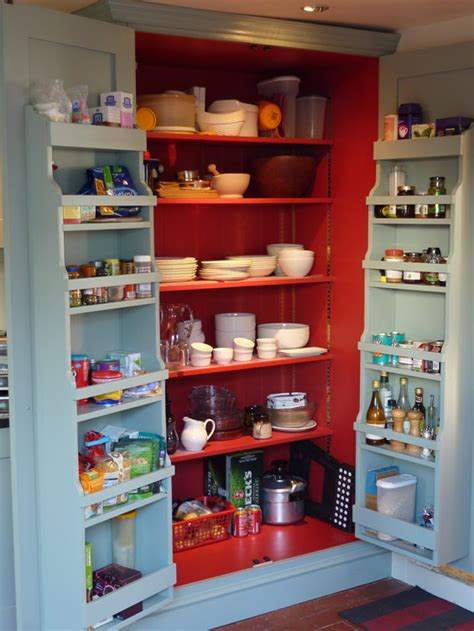 Corner Storage Cabinets For Kitchen by Blue Grey Painted Kitchen By Peter Henderson Furniture