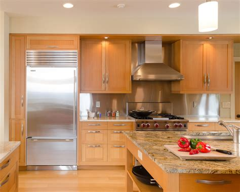 Built In Kitchen Cabinet Design by New York Built In Refrigerator Cabinet Design Kitchen