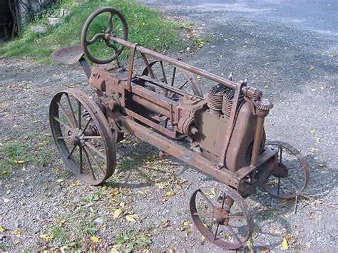 standard twin walk  garden tractor