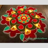 Rangoli Designs With Flowers And Colours   601 x 476 jpeg 40kB