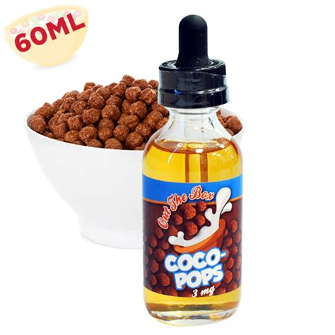 coco vape coco pops e juice by out the box eliquids vapor4life