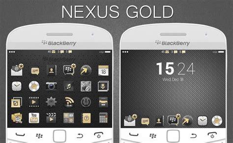 link themes blackberry os7 nexus gold edition blackberry theme wallpapers