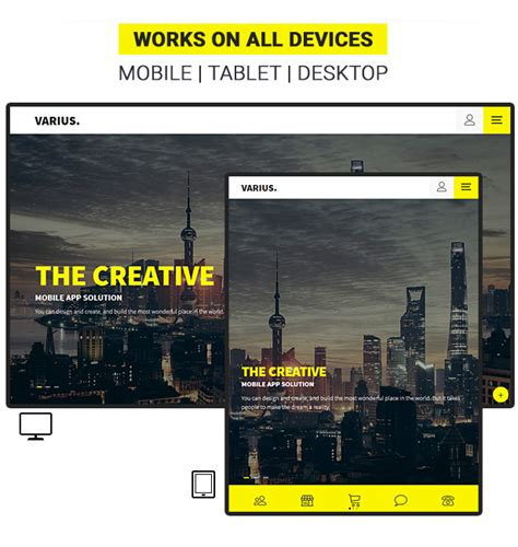varius mobile and tablet creative template by sindevo varius mobile and tablet creative template by sindevo