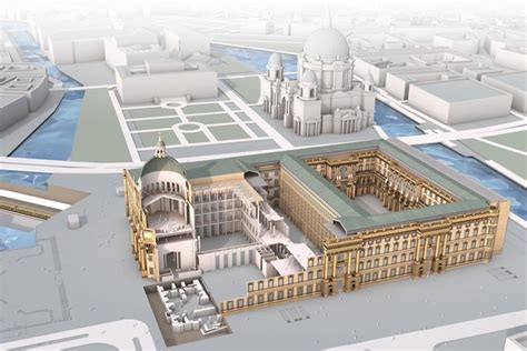 Nice House Plans berlin city palace reconstruction stadtschloss