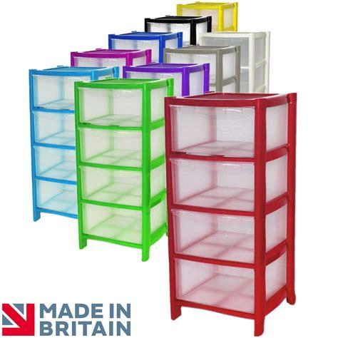 4 drawer plastic storage unit on wheels 4 drawer plastic large tower storage drawers chest