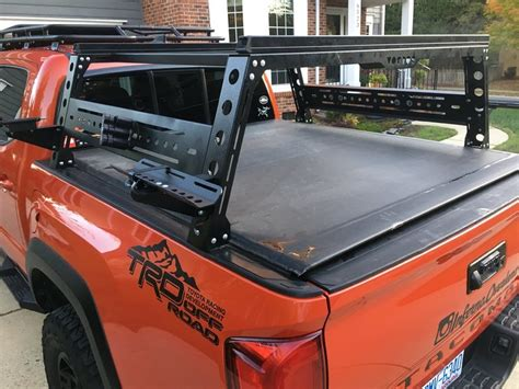tacoma bed rack bed rack that allows the tonneau cover page 7 tacoma world
