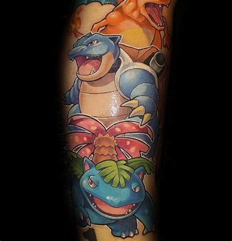 blastoise tattoo 40 blastoise designs for ink ideas