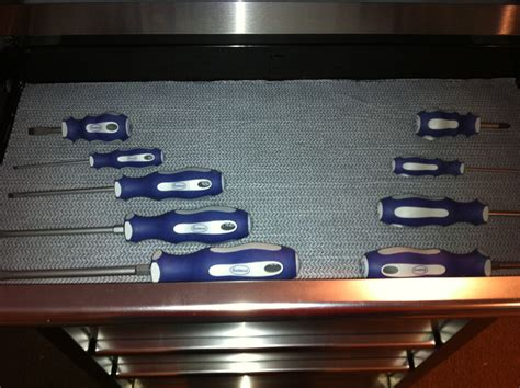 Tool Chest Drawer Liner by The Ultimate Tool Box Liner Grippy Mat Provides A Non