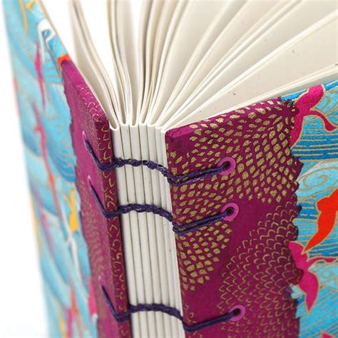 Blue Classic Coptic Stitch Book Binding 178 best images about bookbinding on