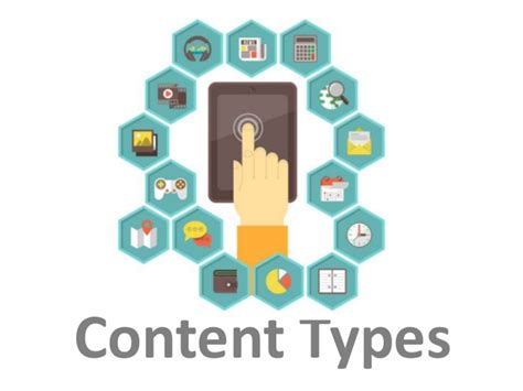 type in content types
