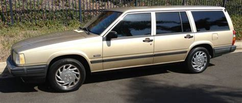 purchase used 1992 volvo 740 base wagon 4 door 2 3l in playa del rey california united states