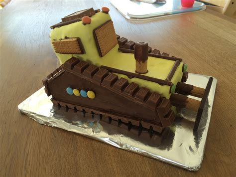 Bagger Planierraupe Kuchen F 252 R Den Kindergeburtstag