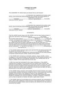 Agreement Letter Philippines Lease Agreement Sle Philippines