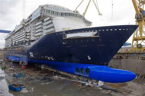 ship keel tui cruise ship keel laid at stx finland
