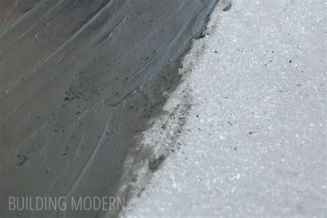 Concrete Countertop Slurry by Building Modern A Modern Diy Renovation