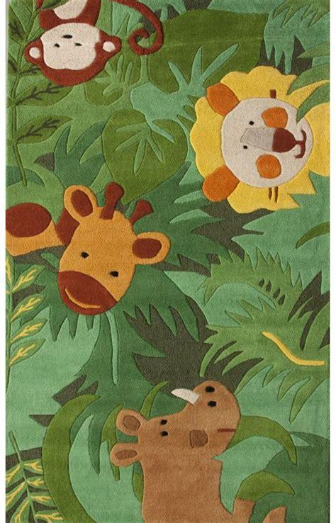 Jungle Friends Rug by Cradlesafari Friends Rug The Floor Carpet Design And