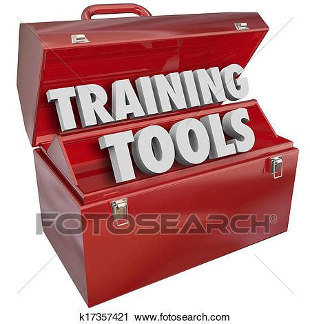 job training clipart clipart of training tools red toolbox learning new success