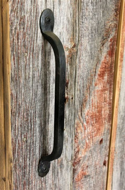 Hand Wrought Iron Door Pull. These handles are made by