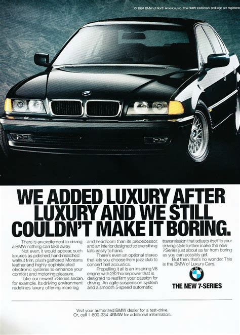 bmw magazine ads best bmw ads of all time