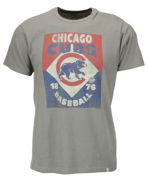 Tshirt Americas Chicago Cubs 47 brand s chicago cubs knockaround flanker t shirt in