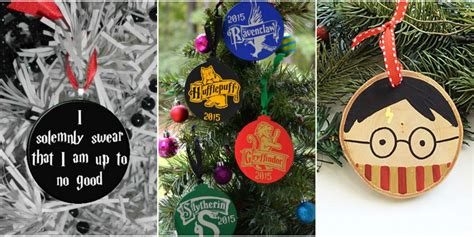 harry potter christmas decorating ideas 18 best harry potter ornaments harry potter tree ideas