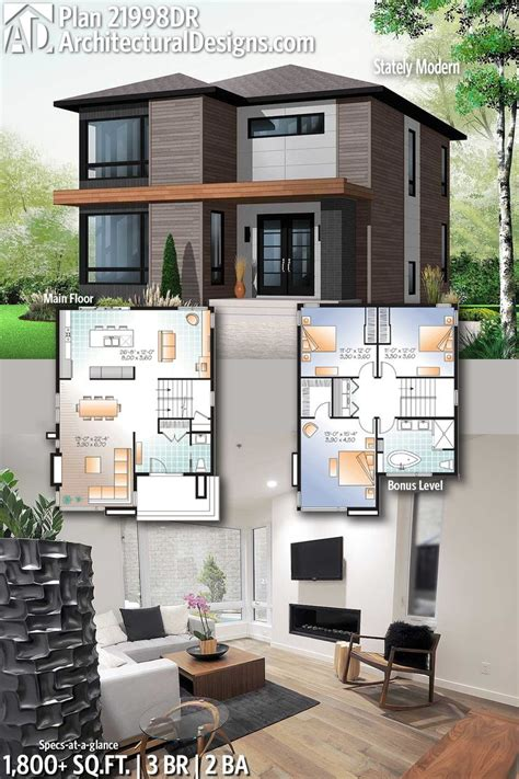 modern house plans architectural designs modern home