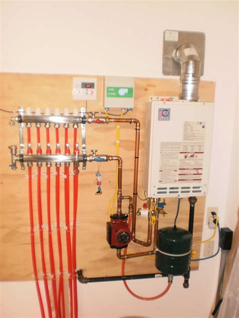 radiant heat water heater or boiler takagi radiant heat hot water floor heating systems