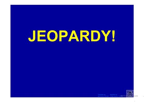 Jeopardy Questions For Esl Students English Teaching Interactive Jeopardy Powerpoint