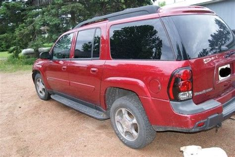 auto air conditioning service 2004 chevrolet blazer engine control purchase used 2004 chevrolet trailblazer lt ext maroon 3rd row leather loaded in
