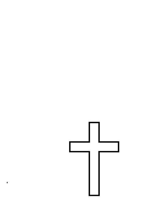 cross templates printable cross pictures cliparts co