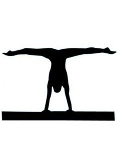 Gymnastics Wall Murals 1000 images about gymnastics silhouettes on pinterest