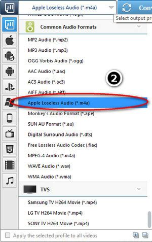 audio file format standard how to convert m4a to wma