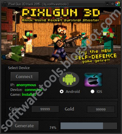 pixel gun 3d hacked apk pixel gun 3d hack 2015 android ios apk free unlimited coins gold no survey no password