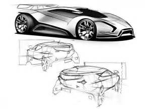 Design Sketch For The designer peter steven gives some advice on how to approach car design