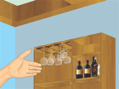 How To Make A Wine Glass Rack by How To Make A Hanging Wine Glass Rack 14 Steps With