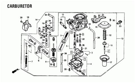 honda rebel 250 parts diagram 1987 honda rebel 250 wiring diagram 35 wiring diagram