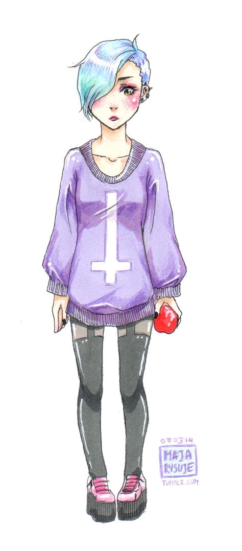 Heboh Sweater Tumbler Simply Ghost pastel by blossomingmay on deviantart